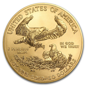 1 ounce Gold American Eagle gold coin US Mint