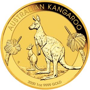 1 ounce Gold Kangaroo gold coin