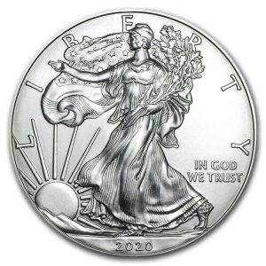 1 ounce Silver American Eagle silver coin US Mint