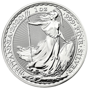 1 ounce Silver Britannia silver coin The Royal Mint