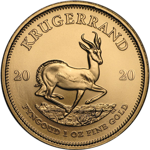 1 Oz Gold Kruggerand