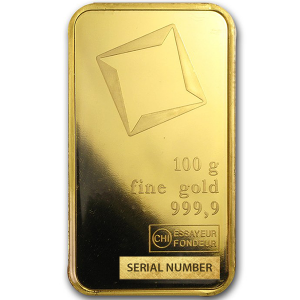 100 grams Gold Bar - Valcambi